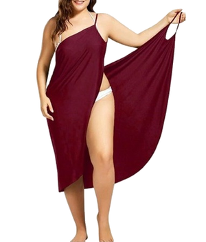 LAST DAY PROMOTION!-2 In 1 Towel Dress