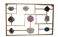 Load image into Gallery viewer, Wall Mount-Gold Trim-Agate