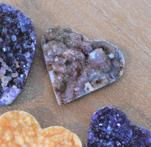 Agate Cluster Heart