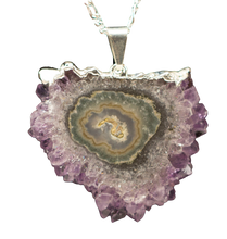 Load image into Gallery viewer, Amethyst Stalactite Pendant