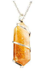 Quartz-Gold Trim-Citrine