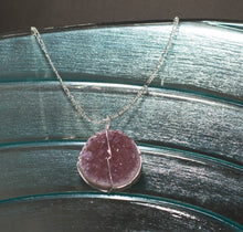 Load image into Gallery viewer, Druse Crystal Pendant on Silver Chain