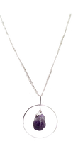 Load image into Gallery viewer, necklace-beak-Amethyst-Agate
