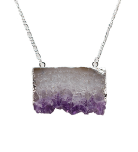 Stone-Pendant-necklace-Amethyst