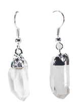 Load image into Gallery viewer, quartz-jewelry-earrings