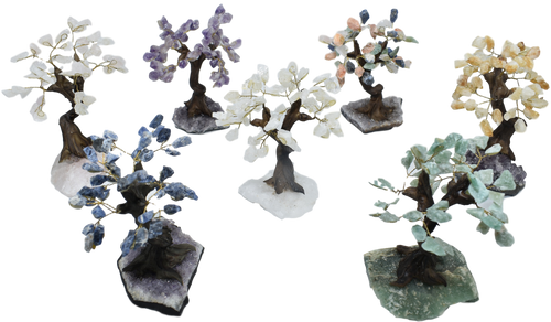 Tree-Sodalite-Rose Quartz
