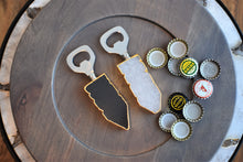 Load image into Gallery viewer, Bottle Opener with Gold Trim