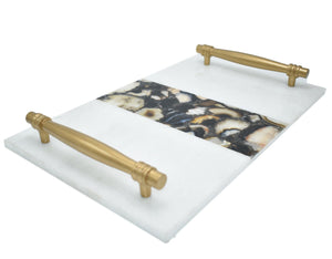 Serving Tray-Marble-agate