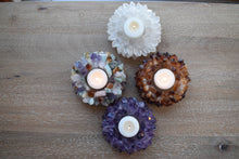 Load image into Gallery viewer, Votive-Rose Quartz-Quartz-Citrine-Candle Holder