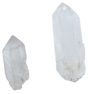Large-Small-Single-Quartz-Point