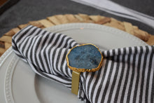 Load image into Gallery viewer, Pastel Blue-Napkin Ring-Stone