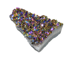 Metalized Amethyst Chunk Large