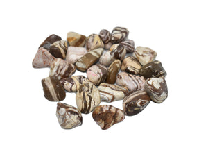 Brown Zebra-Tumble Stone-Jasper Brown Zebra