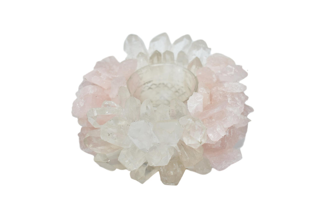 Votive-Rose Quartz-Quartz