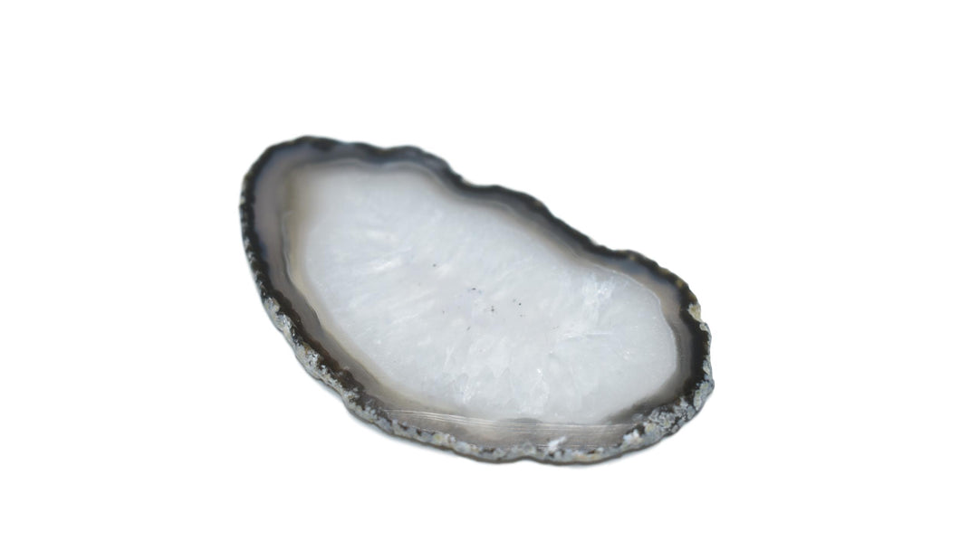 Natural-Gorgeous-Delicate-Agate Slice-Agate