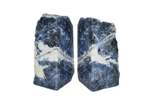 Sodalite Bookends