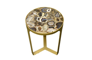 Silver Base-Table-accent table