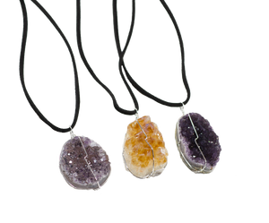 Pendant-Rose Amethyst-necklace