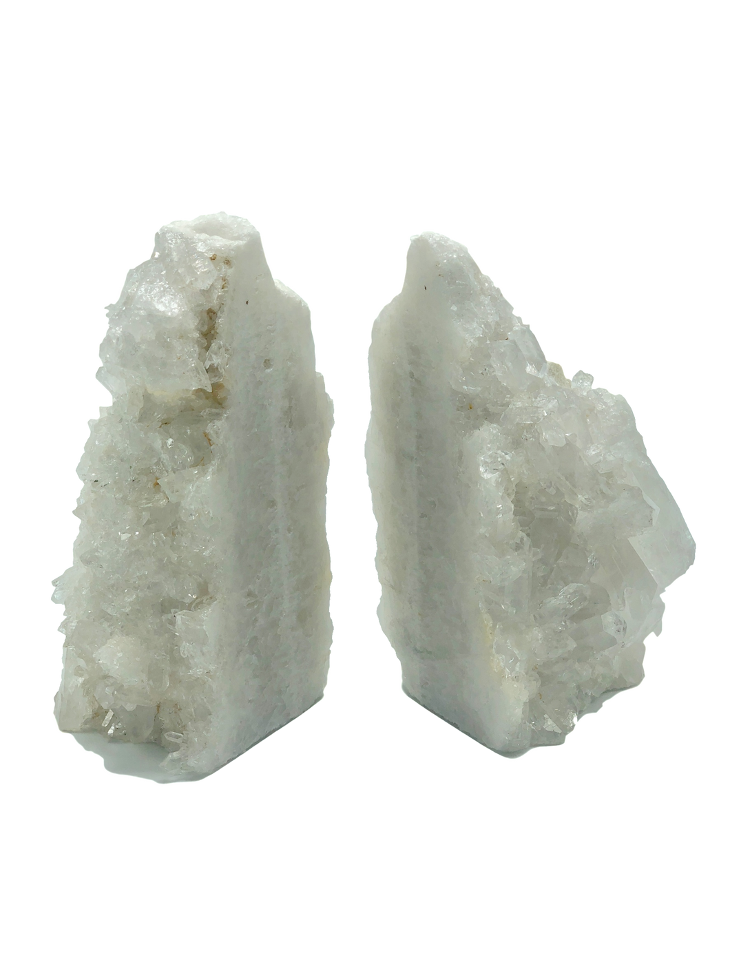 Quartz-Cluster-Bookends