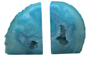 Agate-Bookend-Quality -Blue