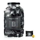 Flowpack container B passion choc coated liquorice