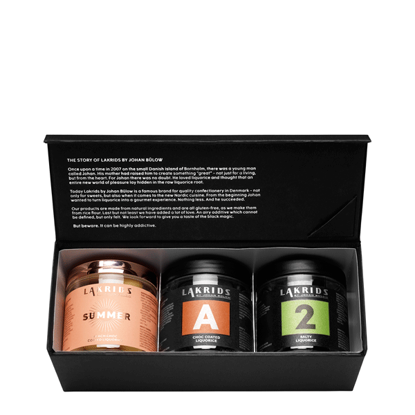 3 jars giftbox with summer, A and no.2