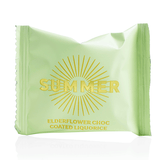 135 x Flowpack SUMMER – Elderflower Choc Coated Liquorice