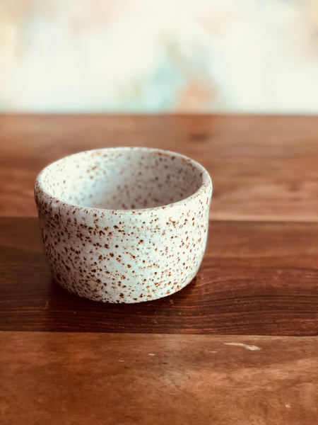 Small iron-flecked bowl or planter no.2