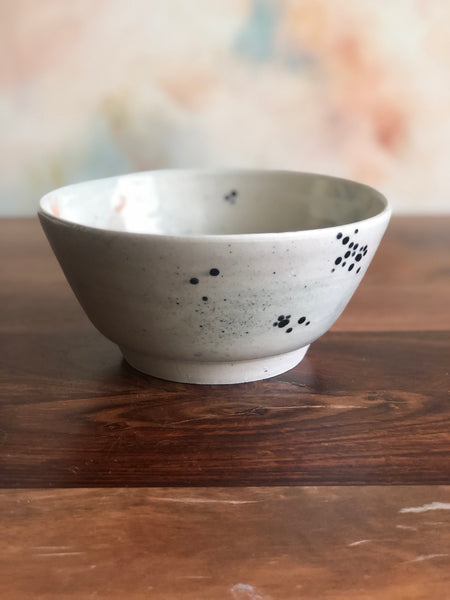 Painted splatter bowl no.5