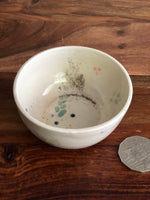 Tiny painted leaf pattern bowl
