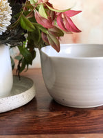 Medium white mixing bowl