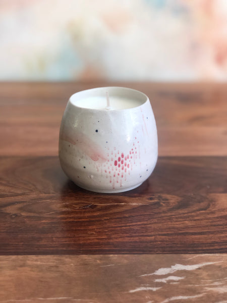 Painted candle cup no.2 - second