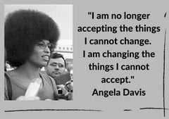 Angela Davis quotation