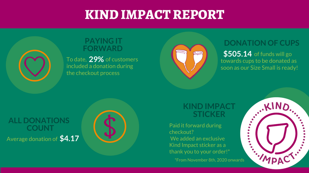 Kind Impact Report Infographic