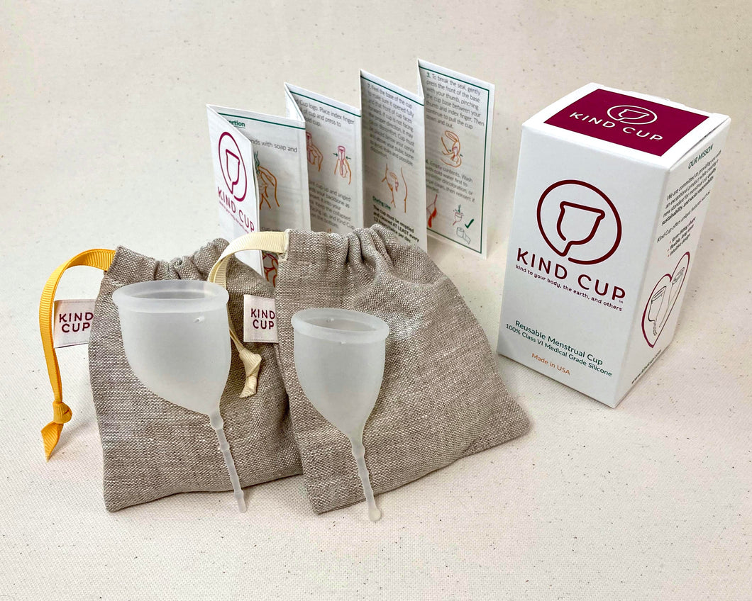Kind Cup Menstrual Cup - Duo Pack