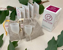 Load image into Gallery viewer, Kind Cup Menstrual Cup - Duo Pack