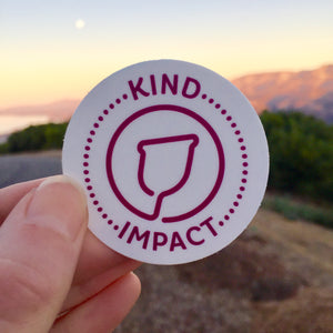 Kind Impact: Donation + Sticker