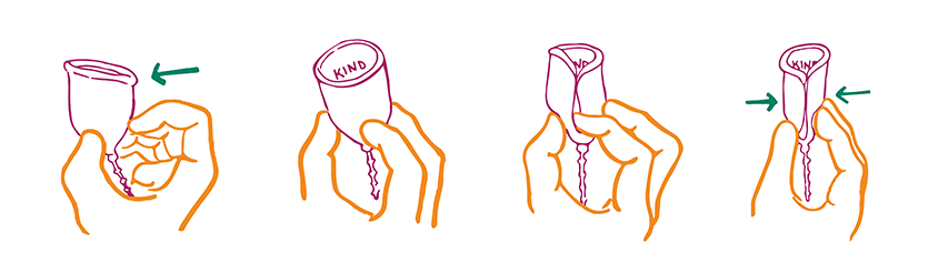 Instructions for Menstrual Cups Use