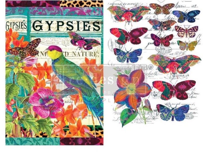 Boho Birds & Butterflies