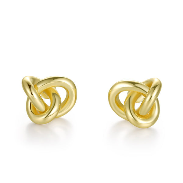 Twine Earrings (Gold/ Silver)
