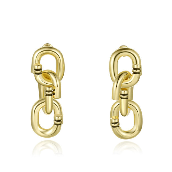Locked Chain Earrings