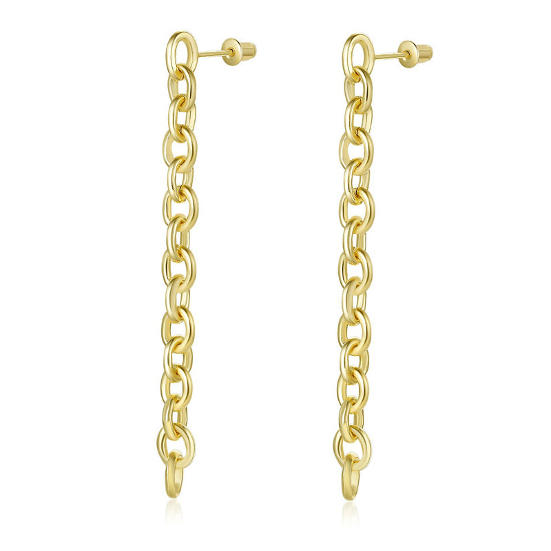 Chain Earrings (Gold/ Silver)