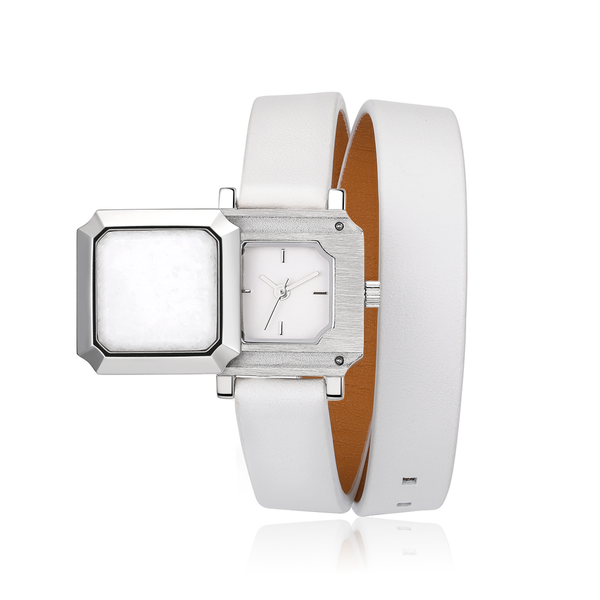 Lady Quartz Watch - White