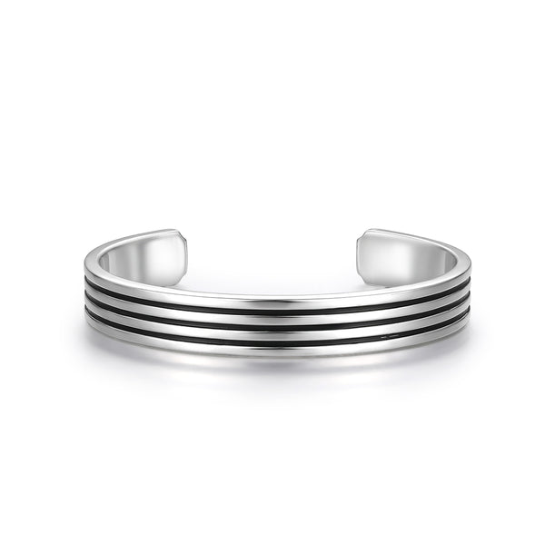 Silver Plating Enamel Bangle