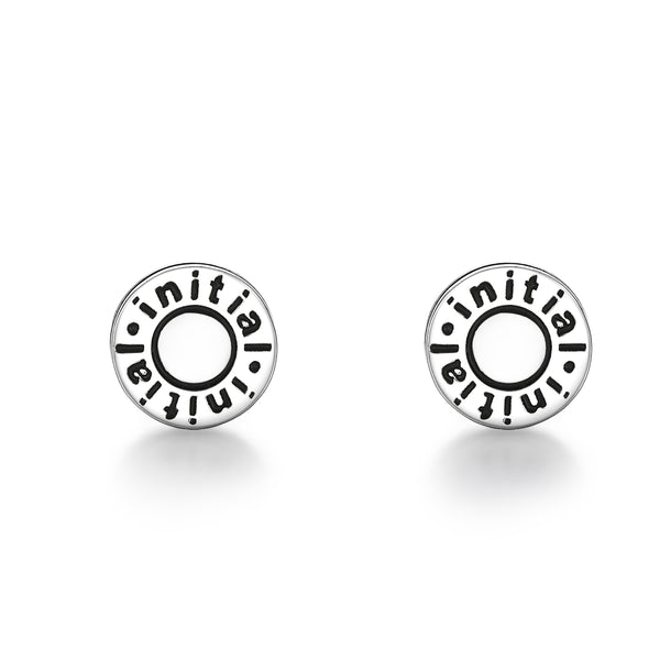 Silver Plating Enamel Earrings