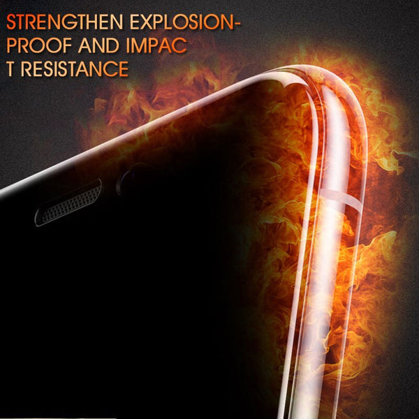 5D couverture complte verre tremp pour iphone 6 7 8 6 S Plus X verre Flim iphone 7X5 6 protecteur