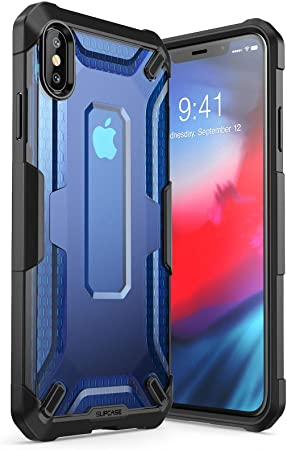 SUPCASE Coque iPhone XS Max Coque Transparente Anti-Choc de Protection  Hybride [Unicorn Beetle Style] [Résistant aux Rayures] pour Apple iPhone XS  Max 6.5 Pouces 2018 (Transparent)