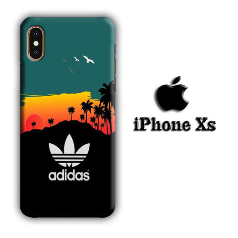 Adidas Sunset coque 3D iPhone Xs