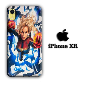 Captain Marvel Super Hero coque 3D iPhone XR