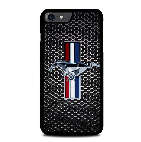 FORD MUSTANG CARBON FIBER Z4267 iPhone 7 , iPhone 8 coque